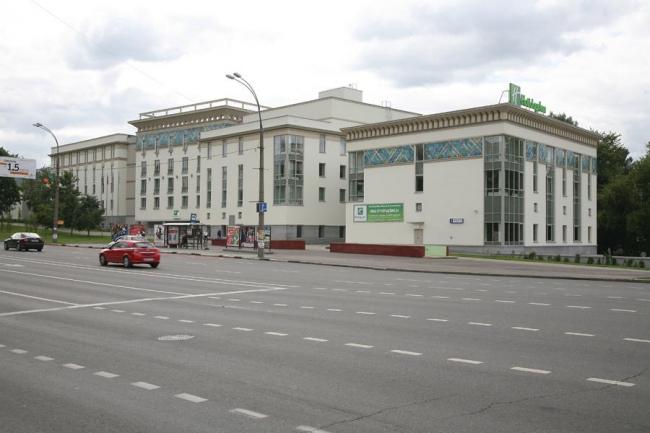 Гостинично-деловой комплекс на ул. Симоновский Вал © ТМ архитектора Александра Локтева