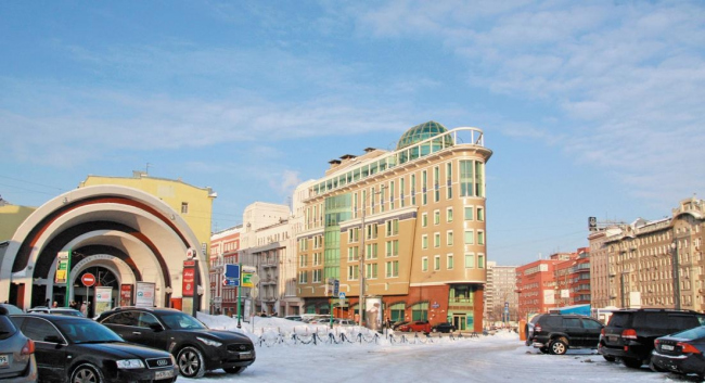 Административное здание в Мясницком проезде © ТМ архитектора Александра Локтева