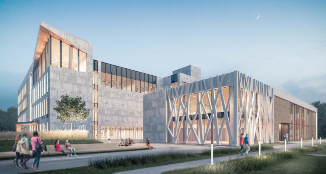 Хорошевская гимназия. Проект © А-Проект