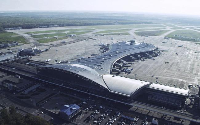 Аэровокзальный комплекс «Внуково-1», Терминал А. Фотография предоставлена Союзом московских архитекторов