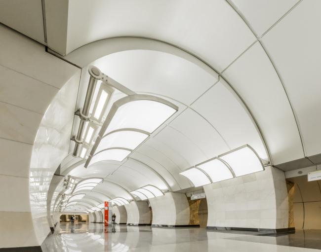 Станция московского метрополитена «Бутырская». Фотография предоставлена Союзом московских архитекторов