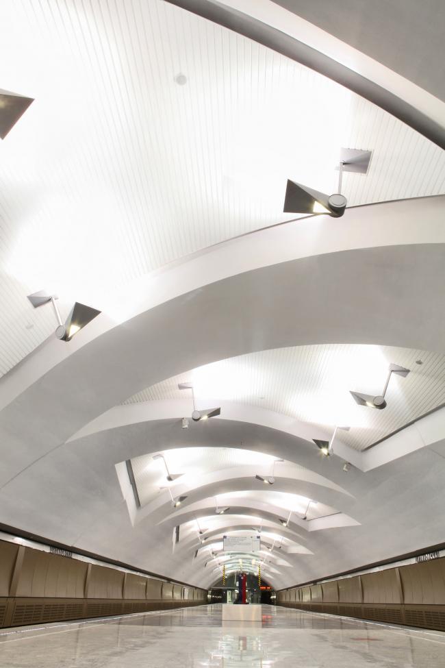 Cтанция московского метрополитена «Шипиловская». Фотография предоставлена Союзом московских архитекторов