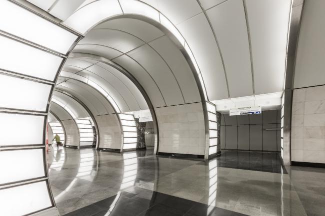 Станция московского метрополитена «Фонвизинская». Фотография предоставлена Союзом московских архитекторов