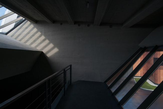 Балкон «головы» деревянной башни. Самая высокая точка обзора. Музей-хранилище коньячного завода «Альянс 1892». Фотография © Глеб Леонов