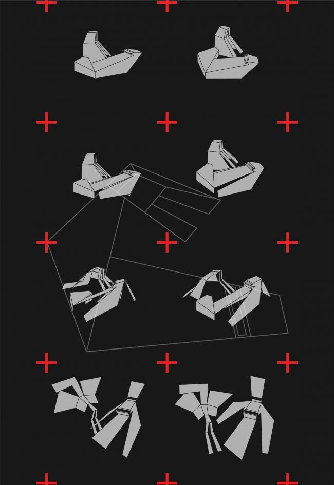 Развертки фасадов. Музей-хранилище коньячного завода «Альянс 1892» © Архитектурное бюро «Тотемент/Пейпер»