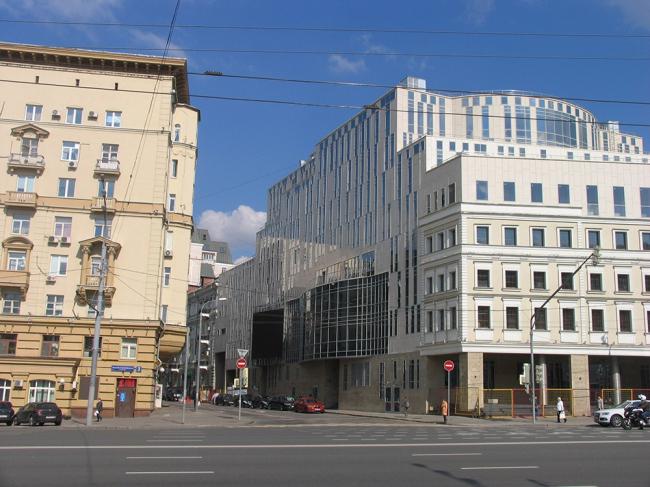 Многофункциональный культурно-деловой комплекс, включающий театр О.Табакова © Михаил Посохин