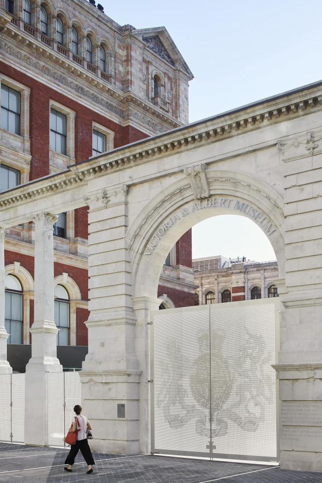 Реконструкция двора Музея Виктории и Альберта © Hufton + Crow