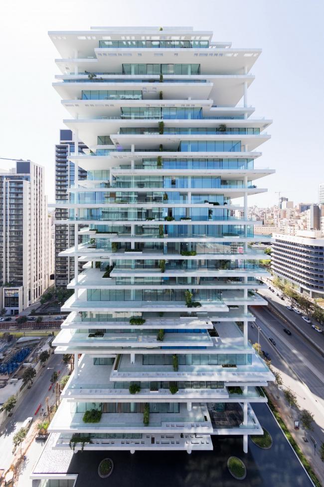 Жилой комплекс Beirut Terraces. Архитекторы Herzog & de Meuron. Фото © Iwan Baan