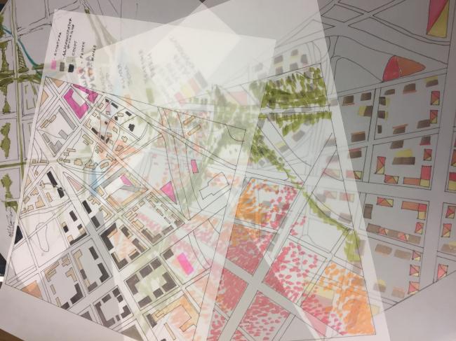 Рабочие материалы проекта «Идеальный город». Предоставлено Kleinewelt Architekten