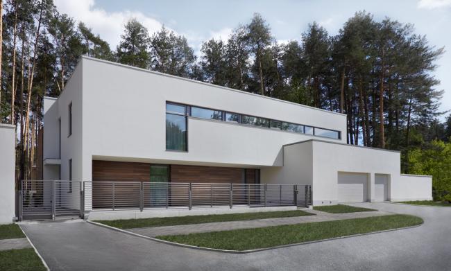 Частный жилой дом в Екатеринбурге © Maria Demidova Architects
