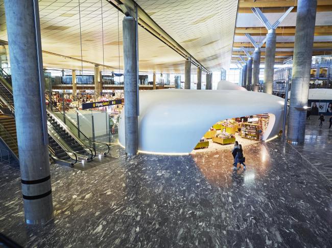 Аэропорт Осло – расширение © Knut Ramstad