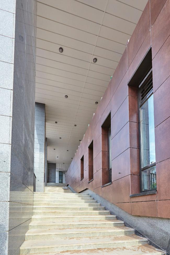 ЖК «4 сезона», лестница во двор © АБ «Проспект»