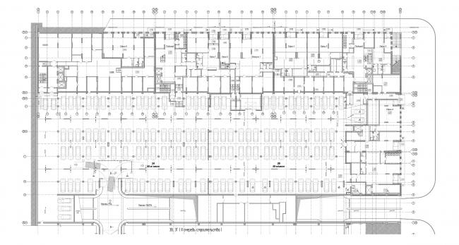 ЖК «4 сезона», план -1 уровня © АБ «Проспект»