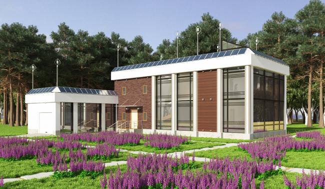 Индивидуальный жилой дом Greenhouse © Антон Канаткин