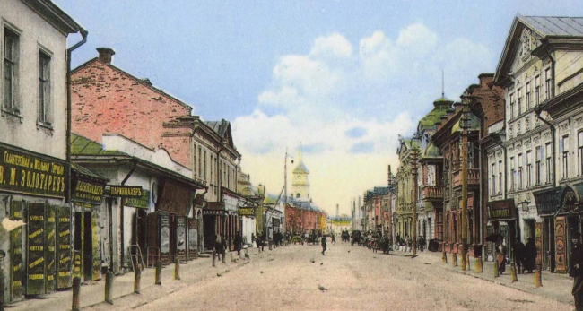 The Pyatnitskaya Street. Currently – the Metallistov Street. Archive materials / provided by WOWHAUS