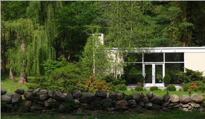 Ф.Джонсон. Дом Элис Болл в Нью-Кейнен. 1953