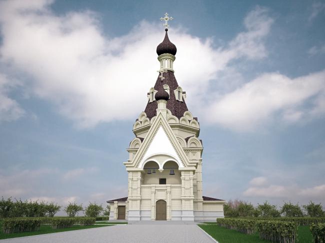 Храм великомучеников Бориса и Глеба в с. Краснояр © В.М. Заварзин,  Н.Ю. Заварзина,  М.А. Каргаполов