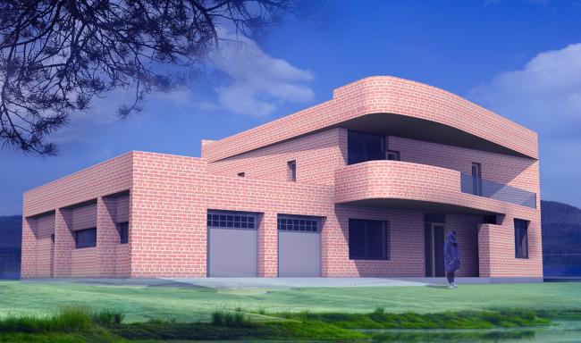 Жилой дом «Тектоника места» © ISAEV ARCHITECTS