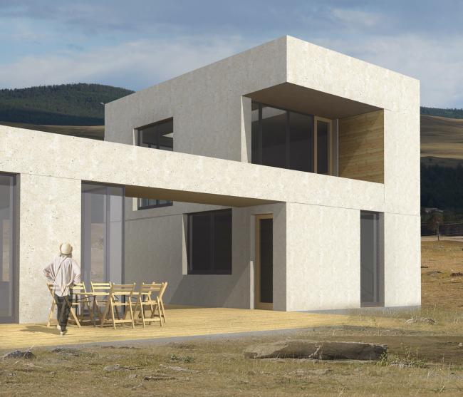 Жилой дом «Игра камней» © ISAEV ARCHITECTS