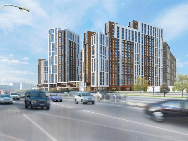 Жилой комплекс на ул. Луганская © АЛЕФ