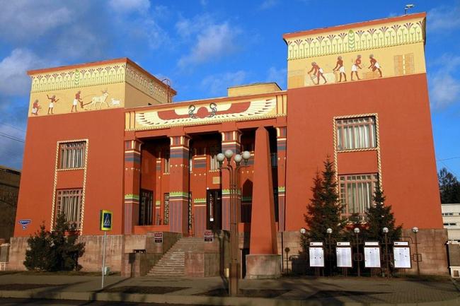 Краеведческий музей в Красноярске. Фото: Ilya Kuk via Wikimedia Commons. Лицензия CC-BY-SA-4.0