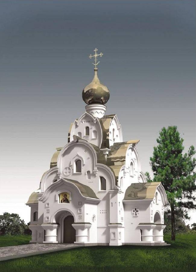 Церковь Андрея Первозванного (Тбилисская) © Архитектор: Федор Афуксиниди