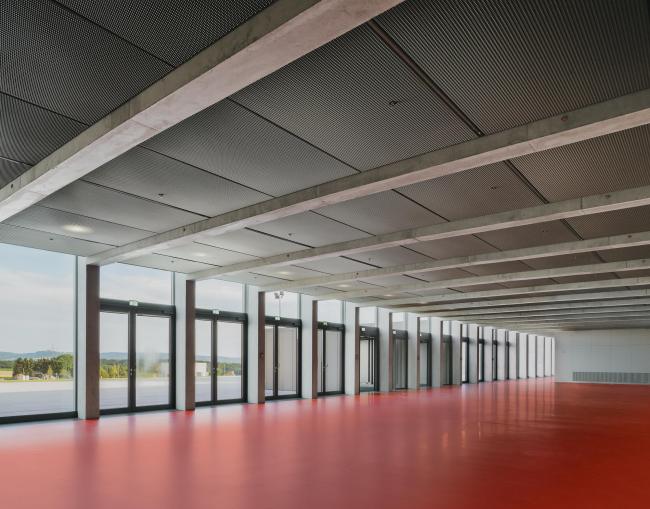 Культурный центр Carmen Würth Forum. Первая очередь строительства