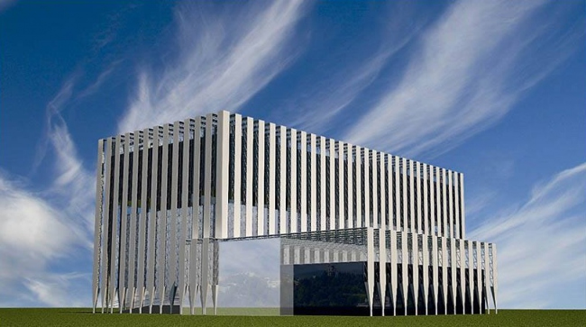 Реконструкция офисного здания на территории пансионата «Светлана» © Е-Прожект