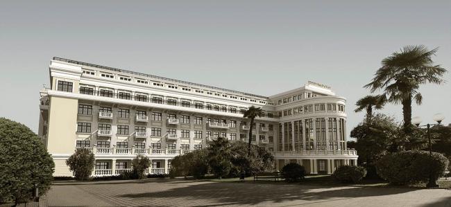 """Реконструкция гостиницы «Приморская» © """"Архипроект"""""""