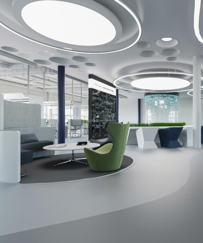 Конкурсный проект дизайн-студии VD Design Vision. Изображение предоставлено порталом ProjectNext