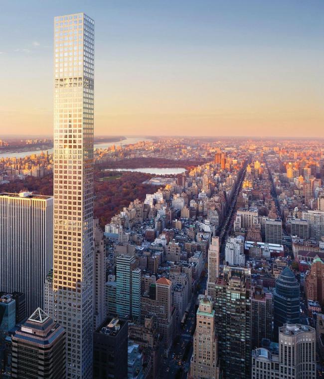 432 Park Avenue, Нью-Йорк © WSP Parsons Brinckerhoff