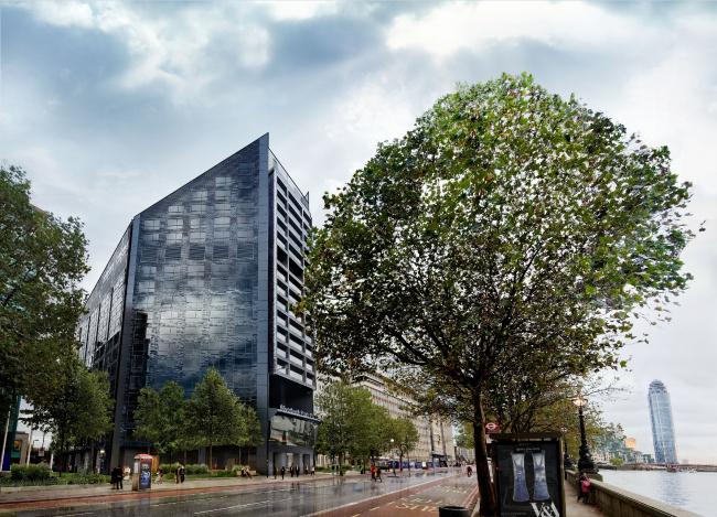 Отель Park Plaza Riverbank в Лондоне © Walsh