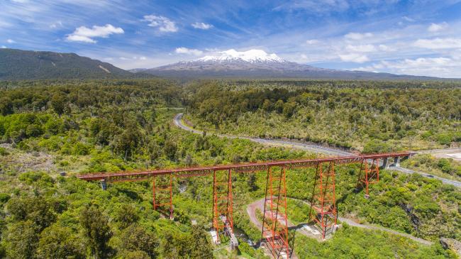 Обновление моста через реку Макатоте, Новая Зеландия ©  Opus International Consultants