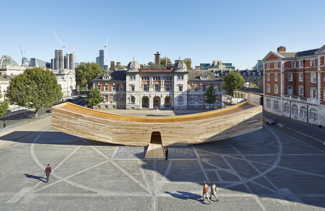 Павильон The Smile Лондонского фестиваля дизайна 2016. Ove Arup and Partners LTD © Arup