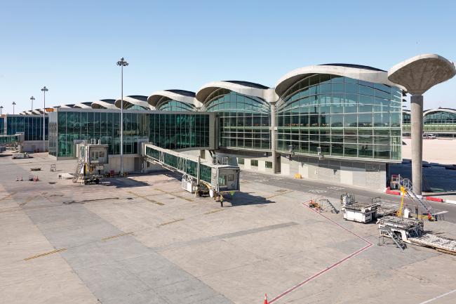 Аэропорт имени королевы Алии, Амман. BuroHappold Engineering © J&P (overseas) Ltd