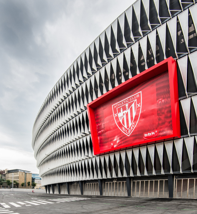 Футбольный стадион Сан-Мамес в Бильбао © IDOM