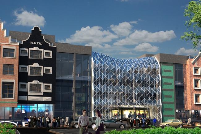 Торговый центр «Амстердам» © Архитектор Валерий Филиппов