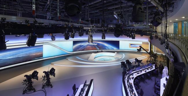 Штаб-квартира телекомпании «Аль-Джазира». Студия новостей на арабском языке © Hufton+Crow