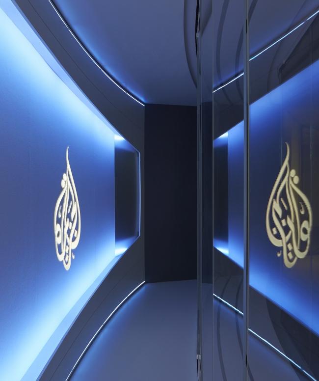 Штаб-квартира телекомпании «Аль-Джазира». Студия  сети «Аль-Джазира» © Hufton+Crow