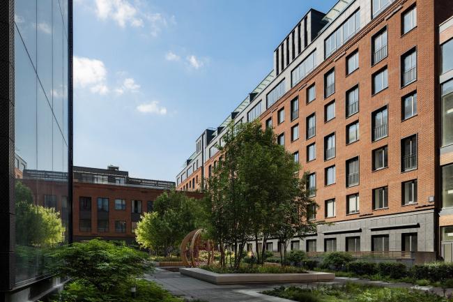 Комплекс апартаментов «Большевик», © IND Architects