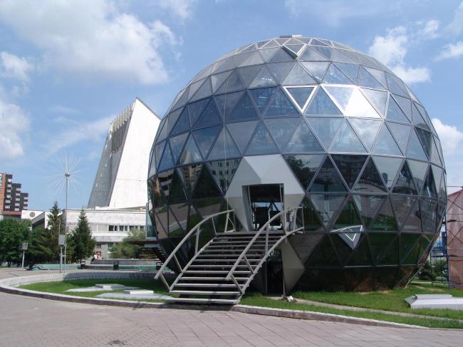 Павильон «Шарик» © Архитекторы: Валерий Вилиппов, Денис Герасимов, Николай Казаков