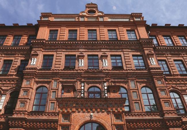 Реставрация здания реального училища в Хабаровске © Стройпроект