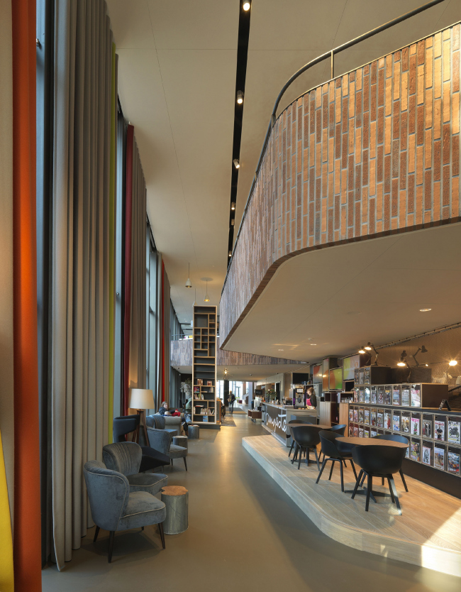 Культурный центр De Bussel. Фото © Michel Kievits. Предоставлено компанией Hagemeister