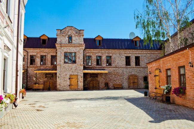 Старо-Татарская Слобода. Реставрация © Строительно-инвестиционная компания  «КамаСтройИнвест»