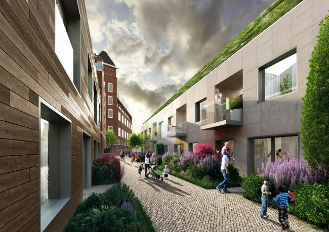 Жилой комплекс Nieuw Bergen © MVRDV
