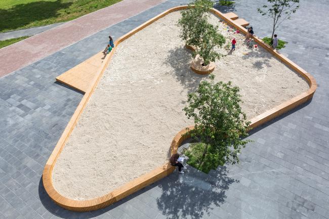 Sandbox of the Yeltsin Center © Peter Lyubavin, Ashot Karapetyan