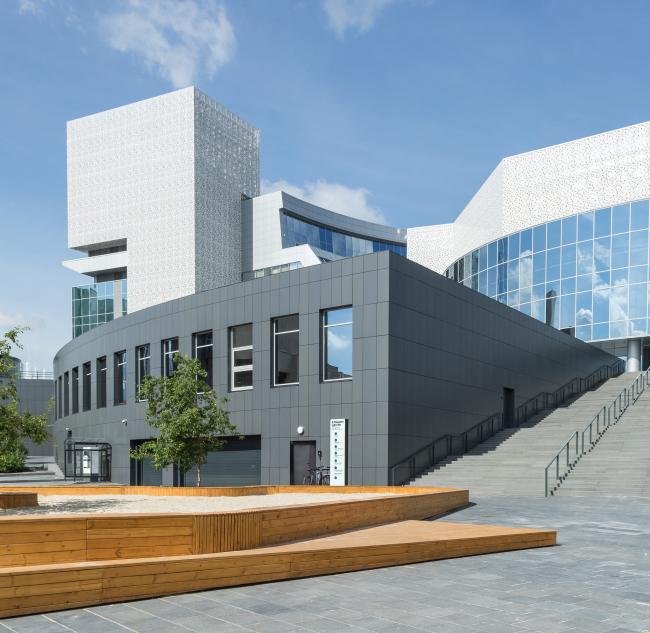 Песочница Ельцин Центра © архитекторы Пётр Любавин, Ашот Карапетян