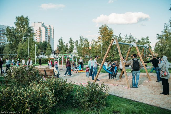 Детский парк «Континент» © архитектор Дарья Толовенкова