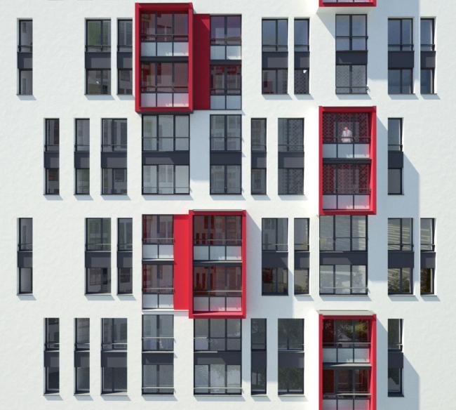 ЖК «Малевич»,  Архитектурное Бюро ОСА © Архитектурное Бюро ОСА