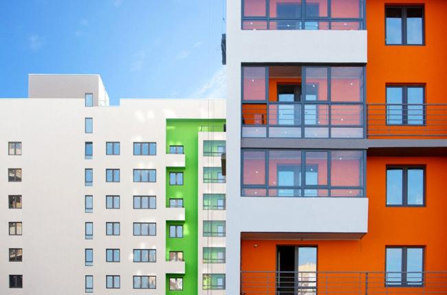 Дома по адресу ул. Эрвье, Тюмень © Архитектурное Бюро ОСА